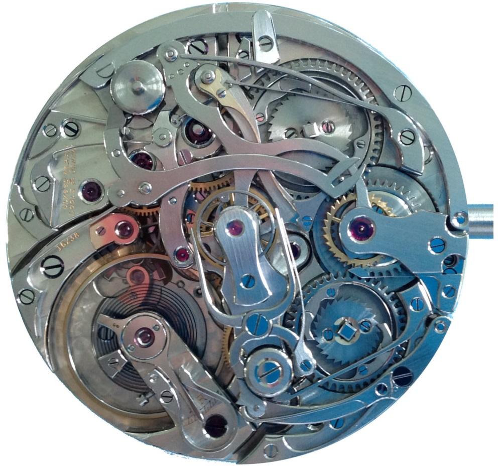 Restauration sur montre chronographe à foudroyante et rattrapante